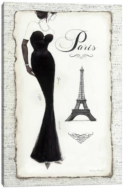 Elegance II Canvas Print #WAC498