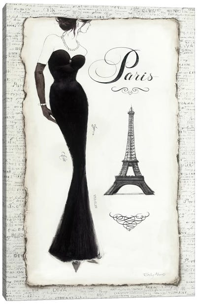 Elegance II Canvas Art Print