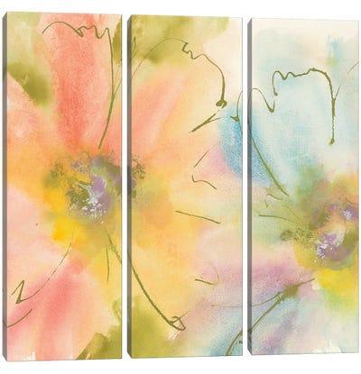 Rainbow Cosmos I Canvas Art Print