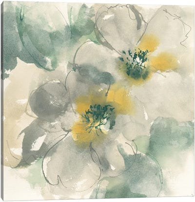 Silver Quince I Canvas Art Print