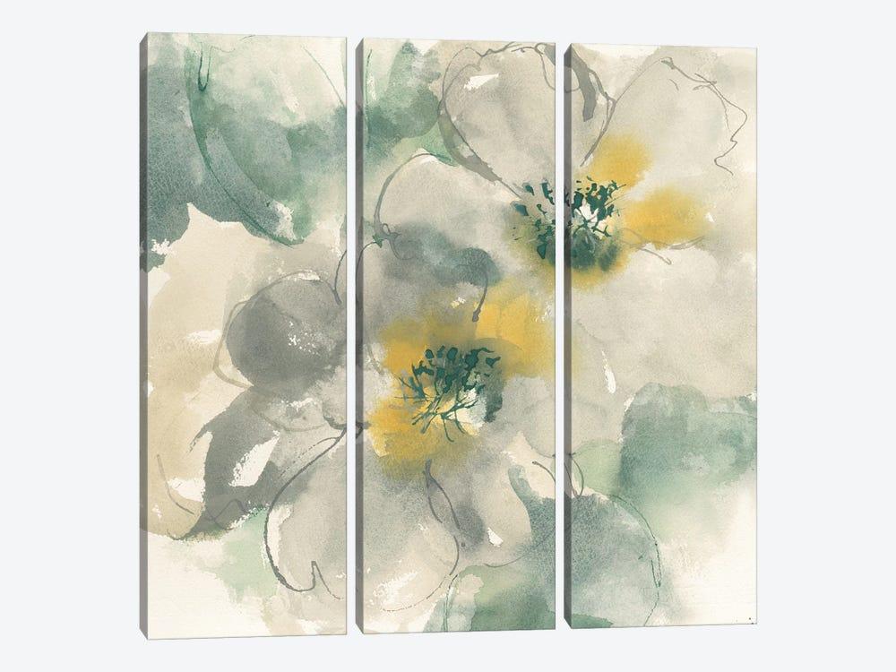 Silver Quince I by Chris Paschke 3-piece Canvas Art Print