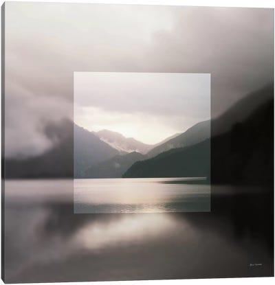 Framed Landscape II Canvas Art Print