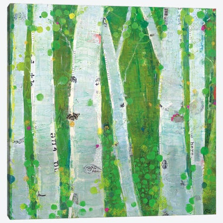 This Wild Playground Canvas Print #WAC5012} by Kellie Day Art Print