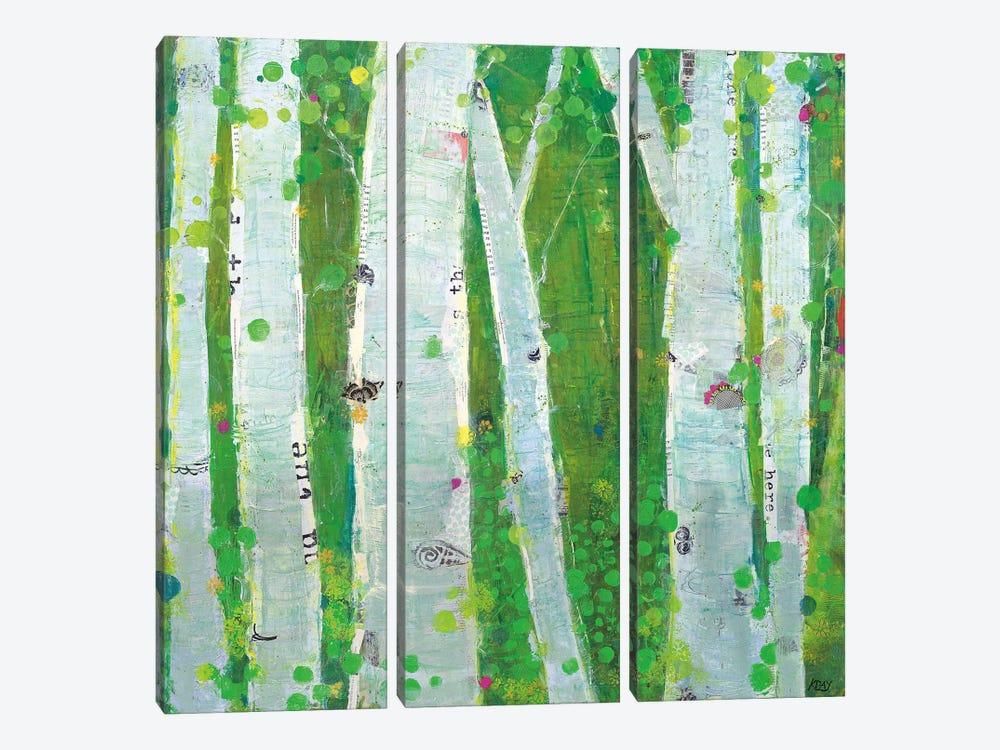 This Wild Playground by Kellie Day 3-piece Art Print