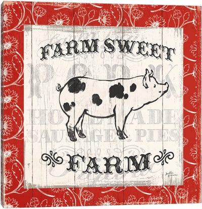 Farmers Market I Canvas Print #WAC5017