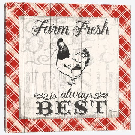 Farmers Market III Canvas Print #WAC5019} by Janelle Penner Canvas Art Print