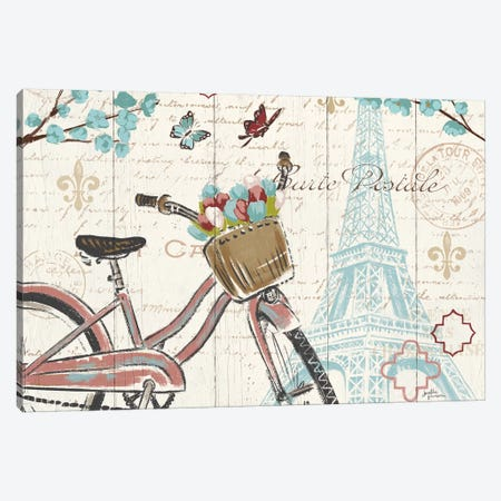 Paris Tour I Canvas Print #WAC5025} by Janelle Penner Canvas Print