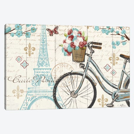 Paris Tour II Canvas Print #WAC5026} by Janelle Penner Art Print