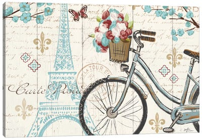 Paris Tour II Canvas Art Print