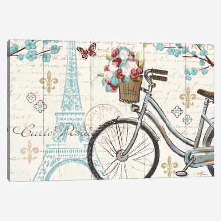 Paris Tour II Canvas Print #WAC5026} by Janelle Penner Art Print