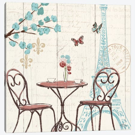 Paris Tour V Canvas Print #WAC5029} by Janelle Penner Canvas Artwork