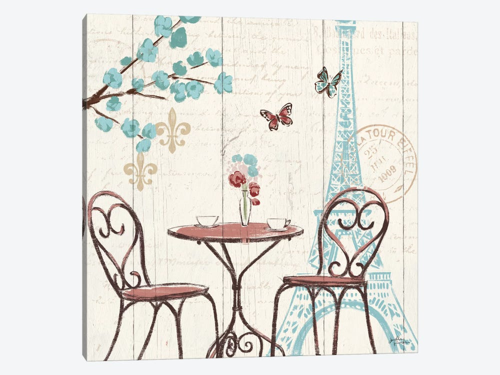 Paris Tour V by Janelle Penner 1-piece Canvas Art Print