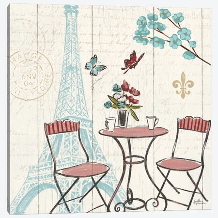 Paris Tour VI Canvas Print #WAC5030} by Janelle Penner Art Print