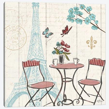 Paris Tour VI Canvas Print #WAC5030} by Janelle Penner Art Print