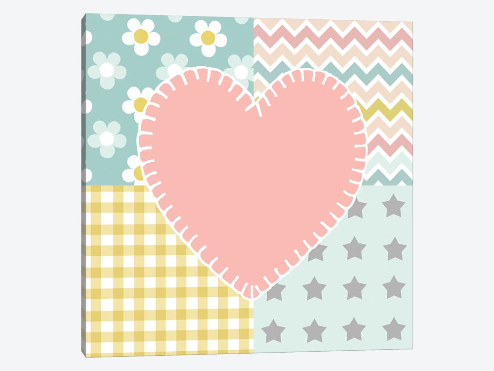 Baby Quilt I by Beth Grove 1-piece Canvas Wall Art