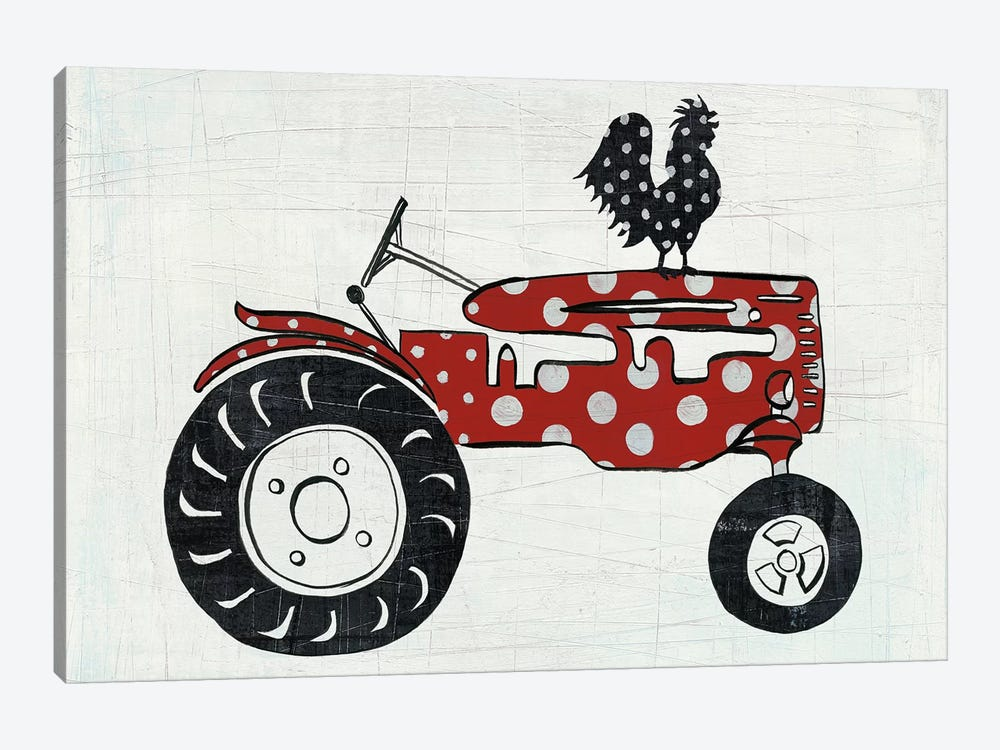 Modern Americana Farm V by Melissa Averinos 1-piece Art Print