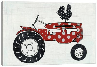 Modern Americana Farm V Canvas Art Print