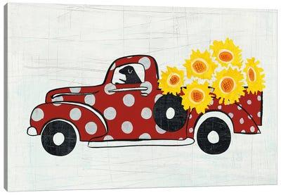 Modern Americana Farm VI Canvas Print #WAC5050