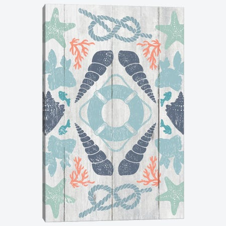 Coastal Otomi II Canvas Print #WAC5052} by Cleonique Hilsaca Art Print