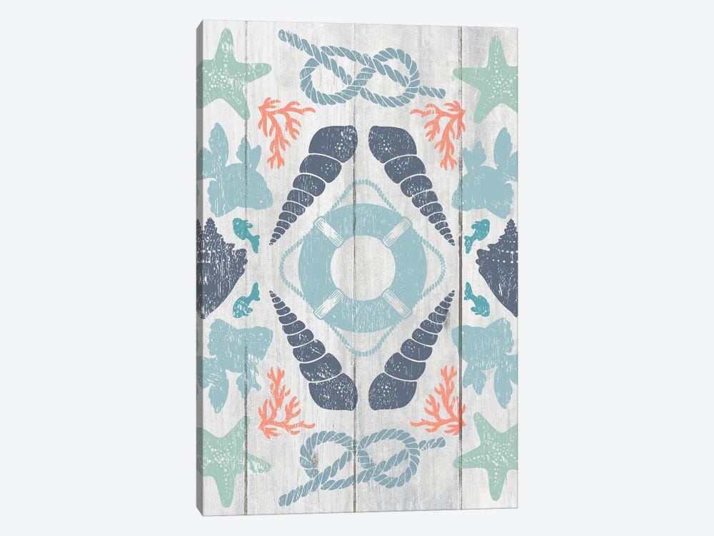 Coastal Otomi II by Cleonique Hilsaca 1-piece Art Print
