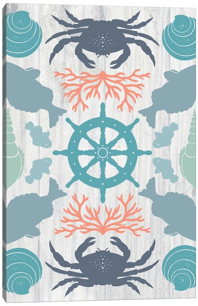 Coastal Otomi IV Canvas Art Print