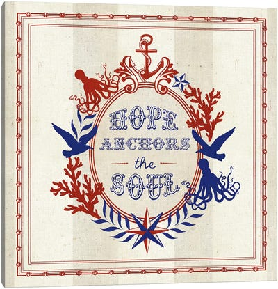 Nautical Wisdom II Canvas Print #WAC5060