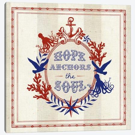 Nautical Wisdom II Canvas Print #WAC5060} by Studio Mousseau Canvas Art