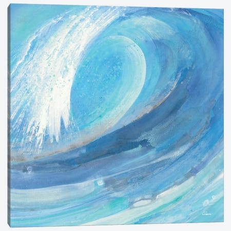 Surf's Up Canvas Print #WAC5083} by Albena Hristova Canvas Wall Art