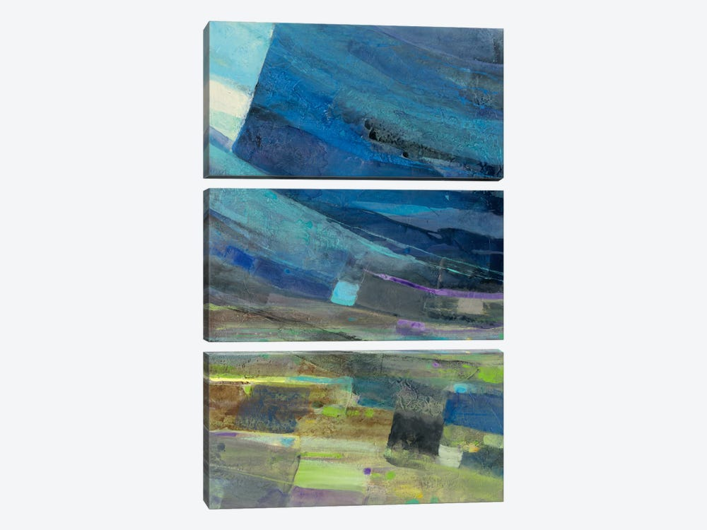 View Of The Coast II 3-piece Canvas Artwork