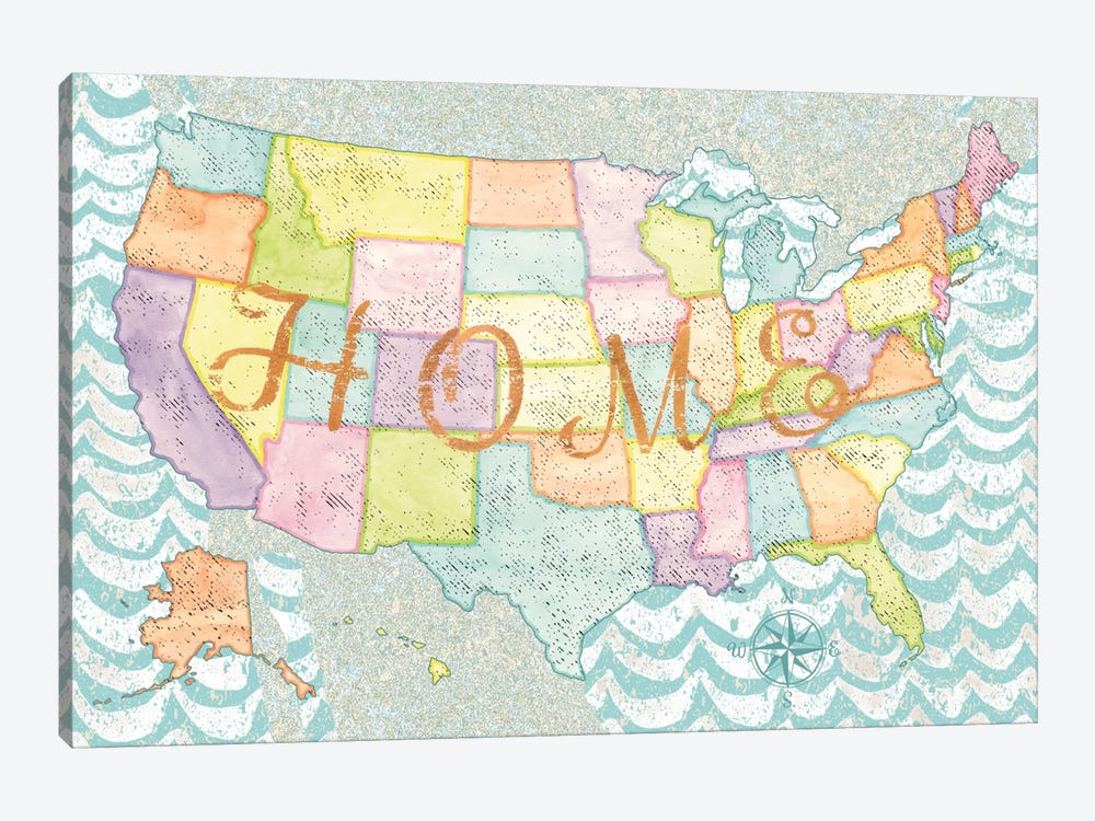 HOME by Beth Grove 1-piece Canvas Print