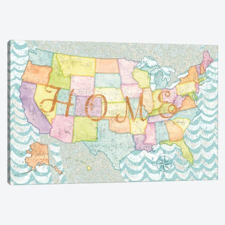 HOME Canvas Print #WAC5096} by Beth Grove Canvas Artwork