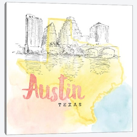 Austin, Texas Canvas Print #WAC5099} by Beth Grove Canvas Print