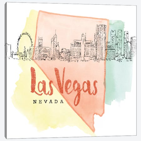 Las Vegas, Nevada Canvas Print #WAC5103} by Beth Grove Canvas Art Print