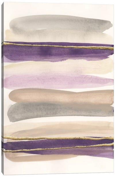 Gilded Amethyst I Canvas Art Print