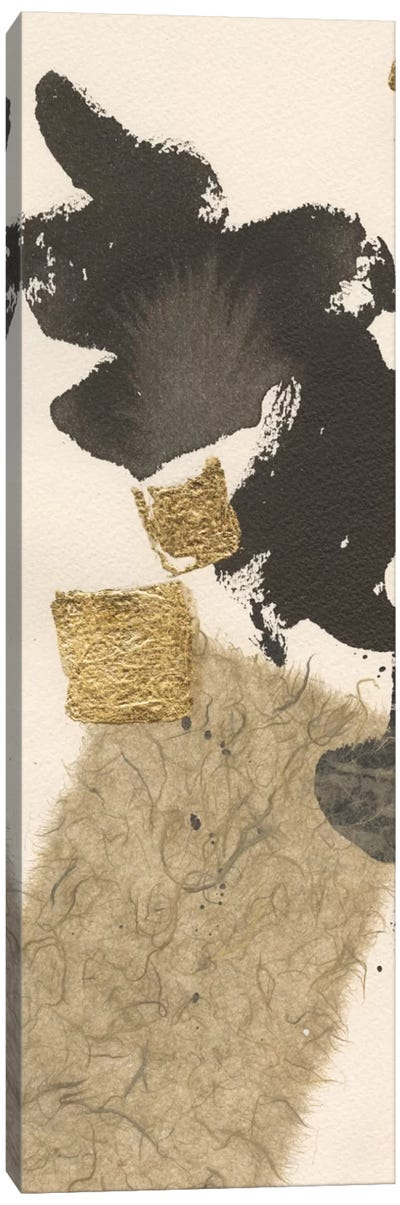 Gilded Collage I Canvas Art Print