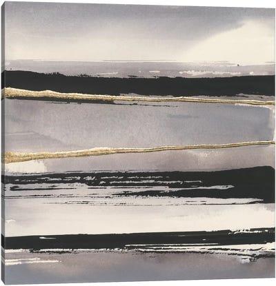 Gilded Grey I Canvas Print #WAC5113