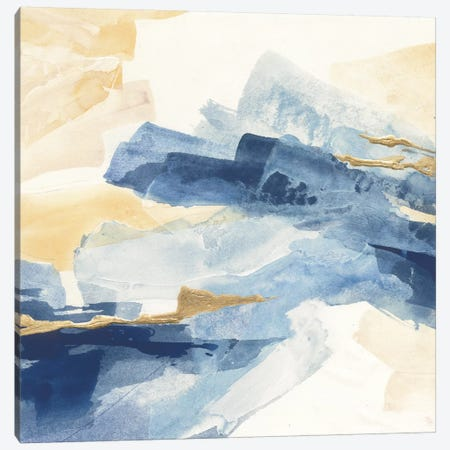 Gilded Indigo I Canvas Print #WAC5116} by Chris Paschke Canvas Print