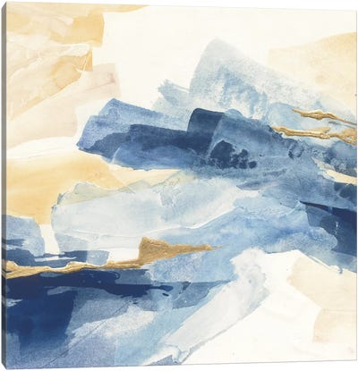 Gilded Indigo I Canvas Art Print