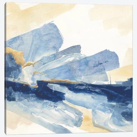 Gilded Indigo II Canvas Print #WAC5117} by Chris Paschke Canvas Art Print