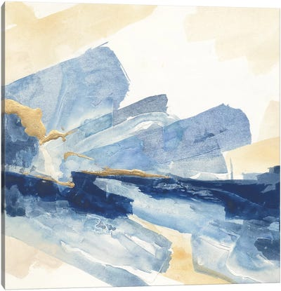 Gilded Indigo II Canvas Print #WAC5117