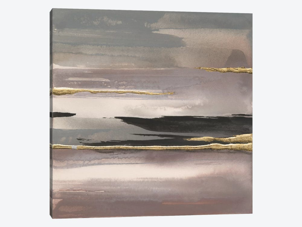 Gilded Morning Fog II by Chris Paschke 1-piece Canvas Print