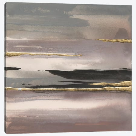 Gilded Morning Fog II Canvas Print #WAC5119} by Chris Paschke Canvas Artwork