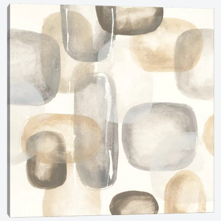 Neutral Stones II Canvas Print #WAC5130} by Chris Paschke Canvas Artwork