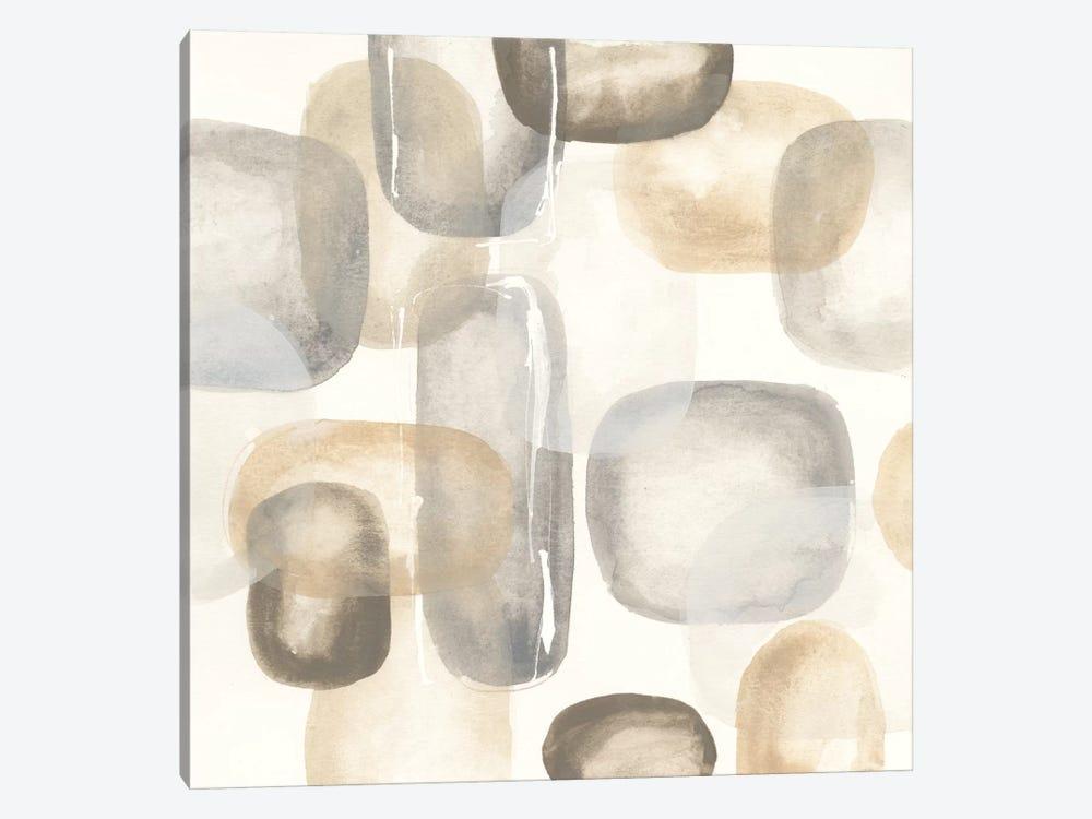 Neutral Stones II by Chris Paschke 1-piece Canvas Art