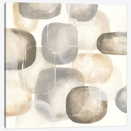 Neutral Stones III Canvas Print #WAC5131} by Chris Paschke Canvas Art
