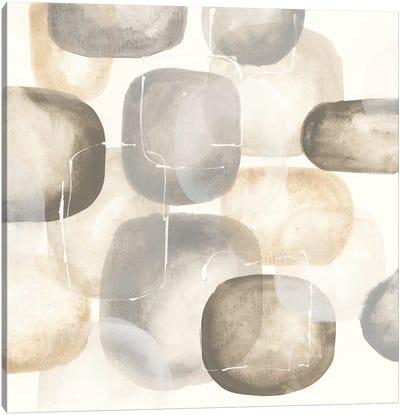 Neutral Stones III Canvas Print #WAC5131