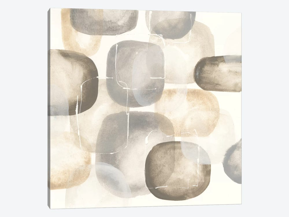 Neutral Stones III by Chris Paschke 1-piece Canvas Print
