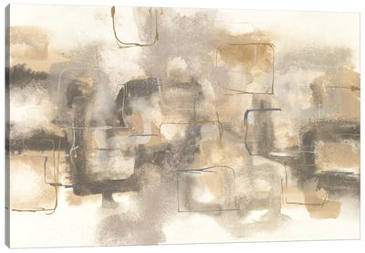 Platinum Neutrals I Canvas Art Print