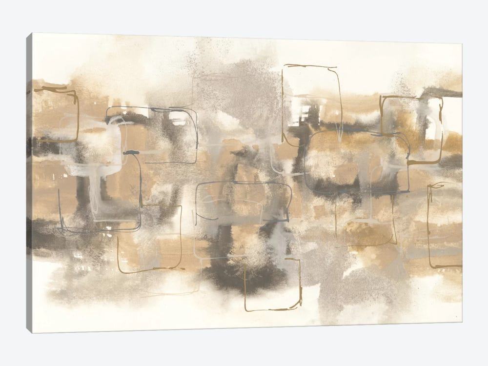 Platinum Neutrals II by Chris Paschke 1-piece Canvas Print