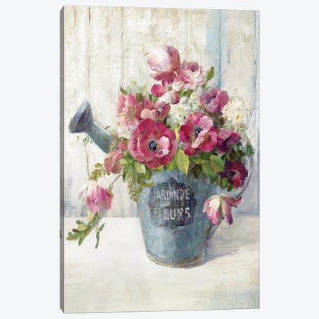 Garden Blooms II Canvas Print #WAC5146} by Danhui Nai Canvas Wall Art